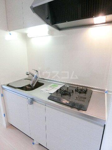 J・プレミアム箱崎 202号室のキッチン
