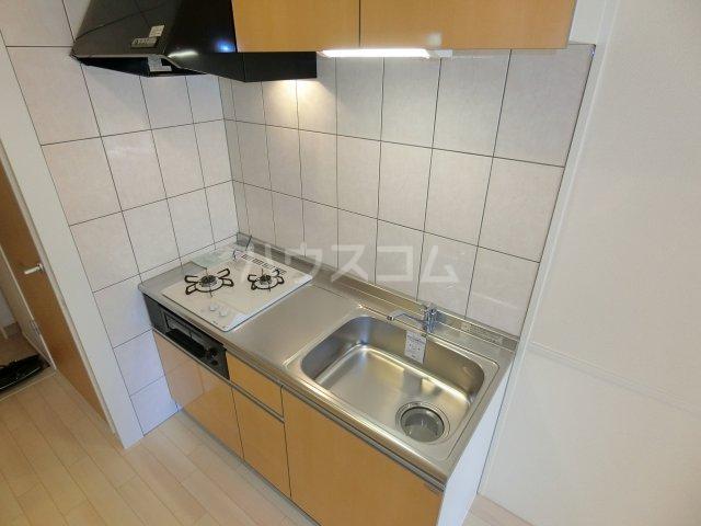 HIKARI 201号室のキッチン