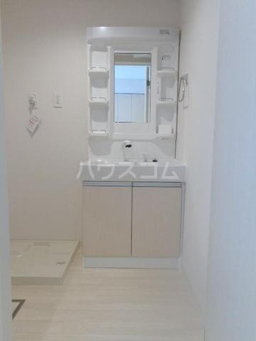 メゾンキャリコ 103号室の洗面所