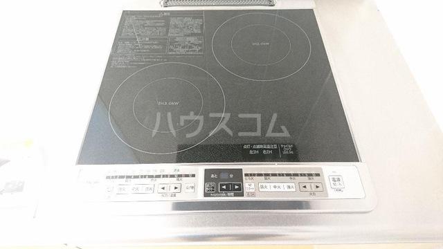 メゾンキャリコ 203号室のキッチン
