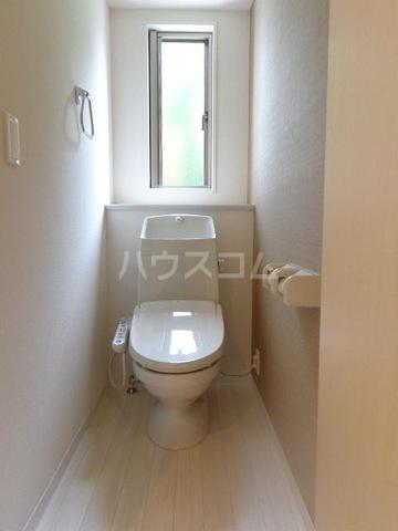 メゾンキャリコ 203号室のトイレ
