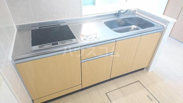 メゾンキャリコ 205号室のキッチン