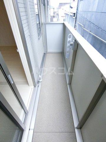 サンフラワー16 B棟 203号室のバルコニー