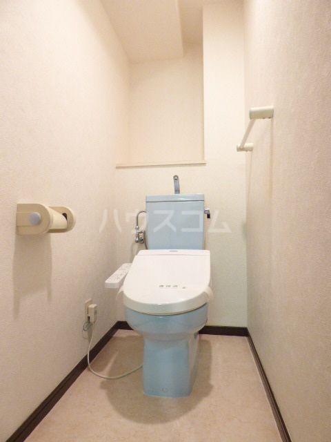 ロマネスク箱崎第3 1201号室のトイレ