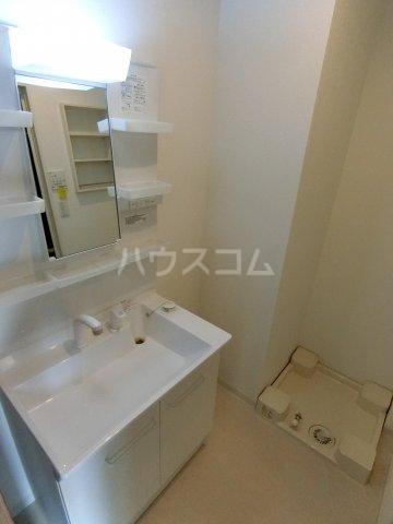 コルテス千早 203号室の洗面所