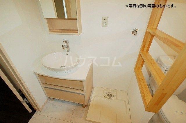 シュプリームメゾンB 103号室の洗面所