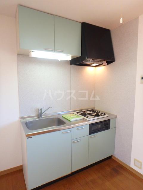 エスカーダ21 202号室のキッチン