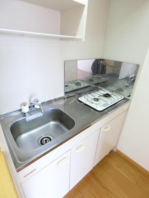 プレミール・コノミ 404号室のキッチン