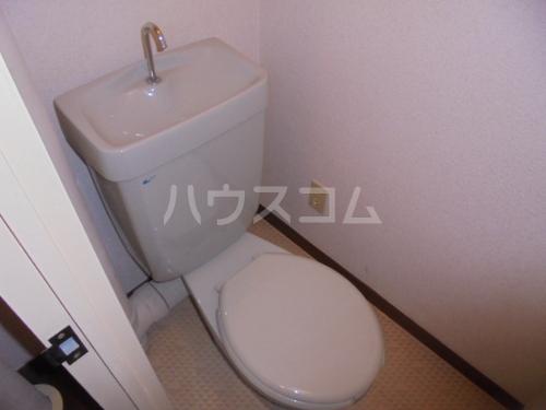 フォルム九大前 402号室のトイレ