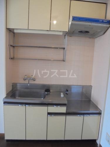 フォルム九大前 402号室のキッチン