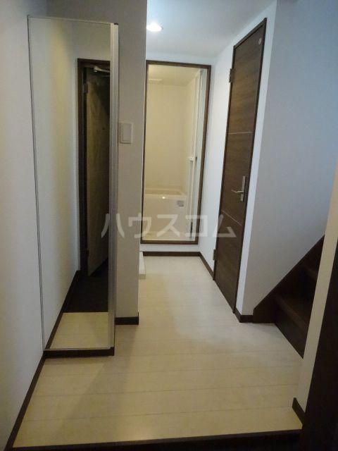 メゾンソレイユ2 202号室の玄関