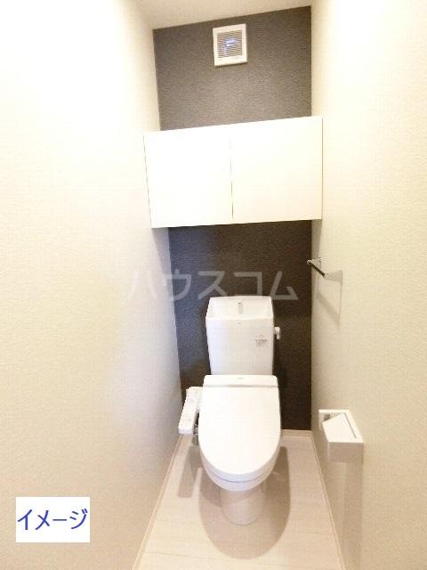 ステラ貝塚駅前のトイレ