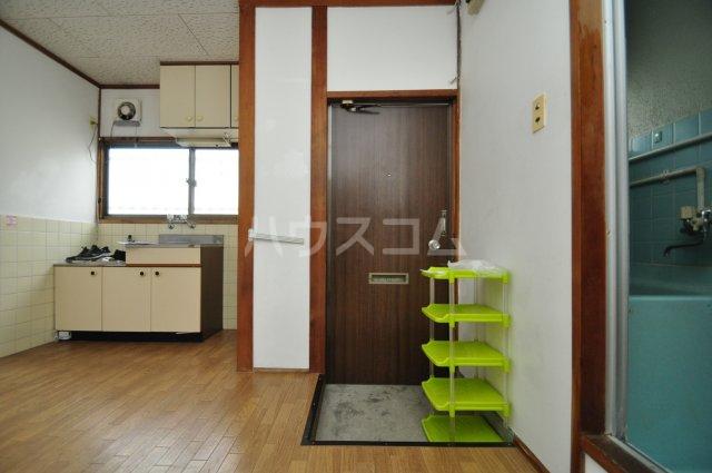 松島ハイツ 5号室の玄関