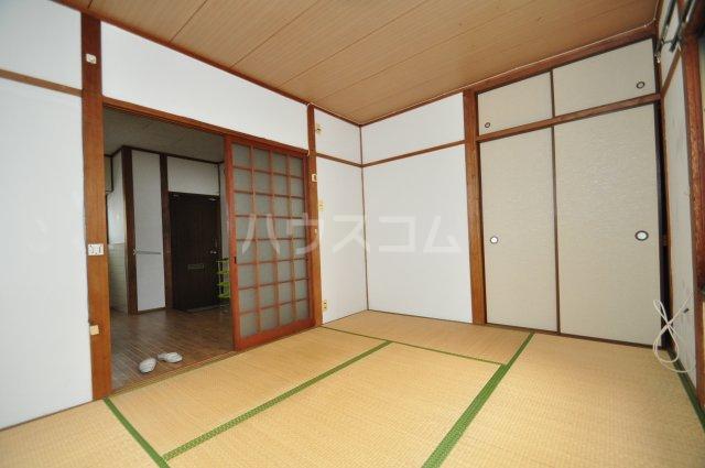 松島ハイツ 5号室のベッドルーム