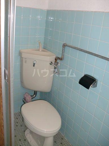 松島ハイツ 11号室のトイレ