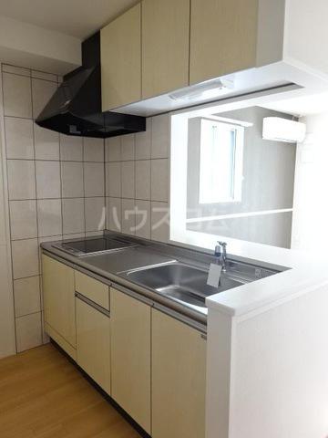 仮)須惠町須惠アパート 202号室のキッチン