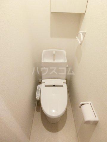 CALM DWELL 201号室のトイレ