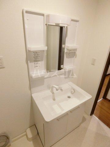 CALM DWELL 201号室の洗面所