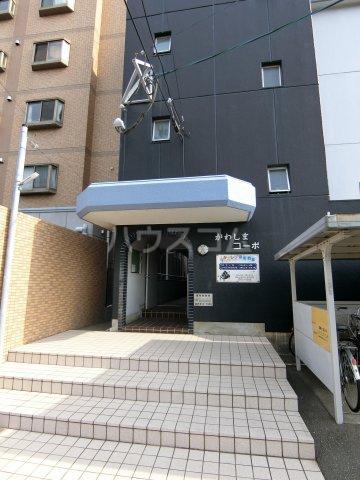 川嶋コーポ 301号室のエントランス