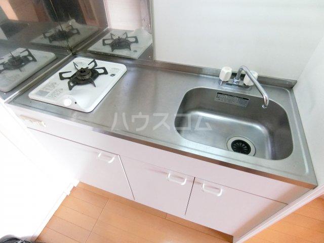 川嶋コーポ 301号室のキッチン