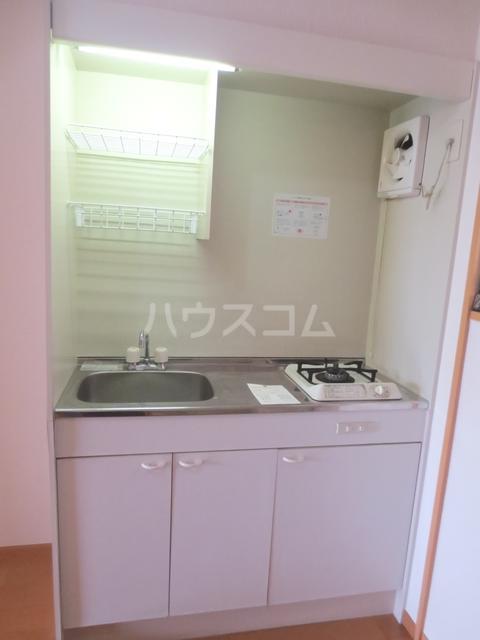 川嶋コーポ 305号室のキッチン