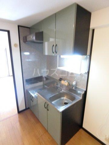 コンフォートスペース箱崎 202号室のキッチン