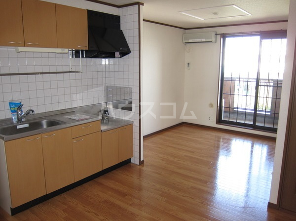 コーポマロニエA棟 202号室のリビング