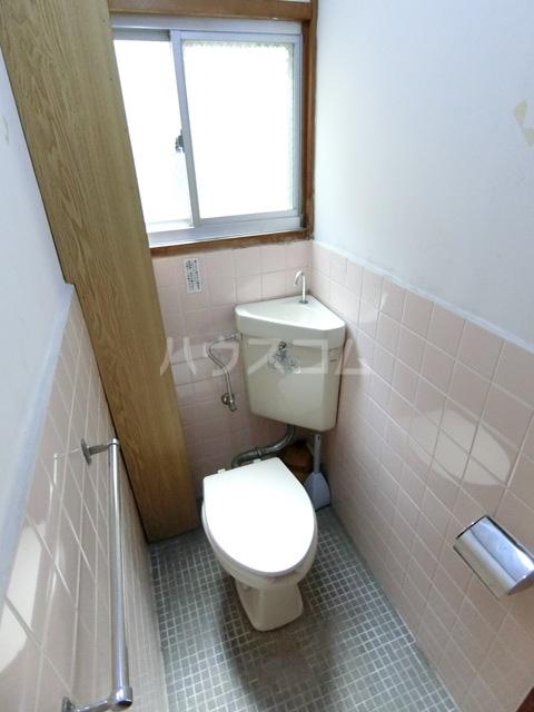 田中荘 203号室のトイレ