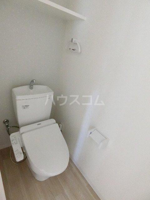 MDIグラシオヴィータ仲原 201号室のトイレ