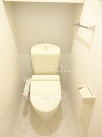 クリスコーラ 102号室のトイレ