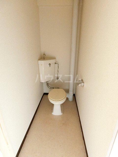 リポーズ310 501号室のトイレ
