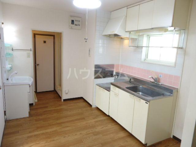 ジュネス奥田Ⅱ 101号室のキッチン