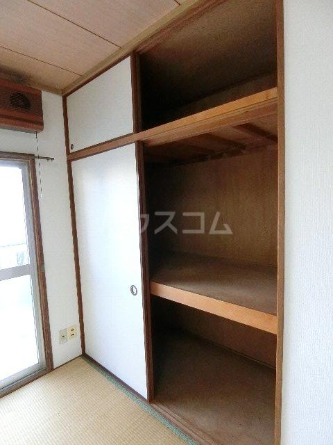 ドミールケンゾー 105号室の収納