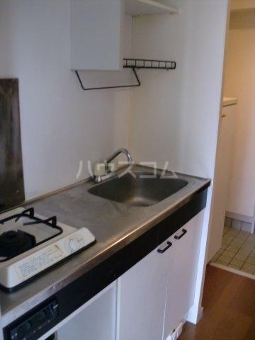 モンターニュ2 202号室のキッチン