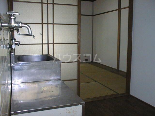ハイムhiro 203号室のキッチン