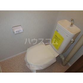 コーポ由貴 102号室のトイレ