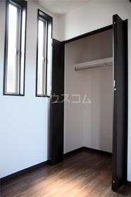 アムール千早 201号室の収納