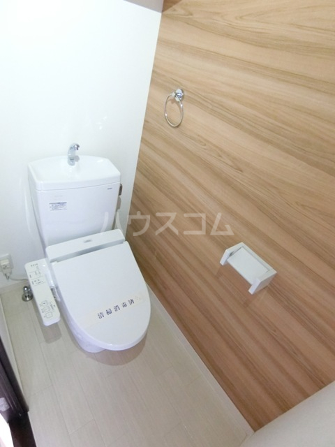 GRANDTIC PROGRESS箱崎 201号室のトイレ
