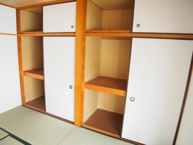 ハピネスC 101号室の収納