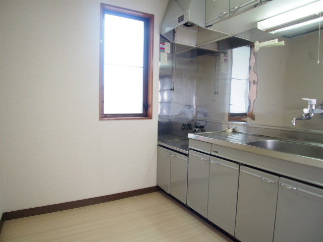 ハピネスC 101号室のキッチン