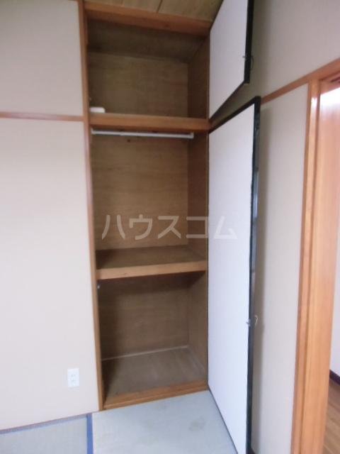 レジデンスマツ 103号室の収納