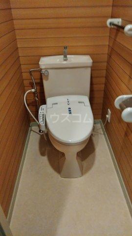 ペアシティ久喜弐番館 303号室のトイレ