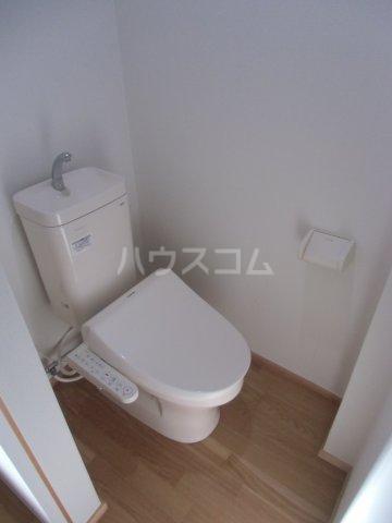 オベント森 104号室のトイレ