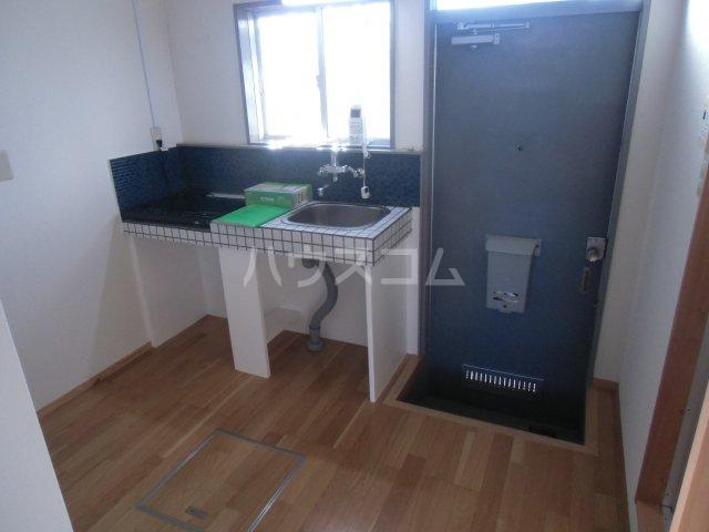 オベント森 104号室のキッチン