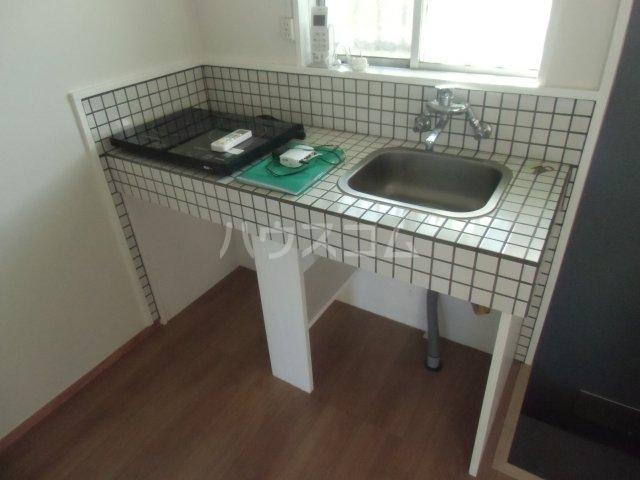 オベント森 106号室のキッチン