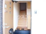 若宮 202号室の玄関