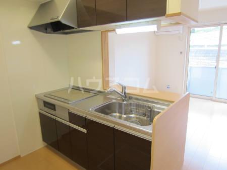 ヴェール 205号室のキッチン