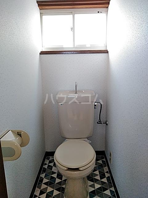 誠コーポ 201号室のトイレ