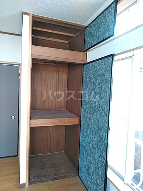 誠コーポ 201号室の収納