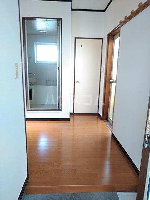 誠コーポ 201号室の玄関
